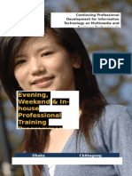 Evening and Weekend Courses in MCC