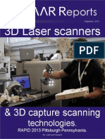 31 3d Laser Scanners and 3d Capture Scanning Technologies Presented at RAPID 2013