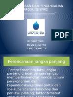 Sistem Perencanaan Dan Pengendalian Produksi