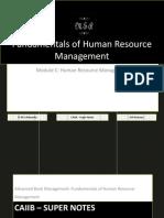 72413150 CAIIB Super Notes Advanced Bank Management Module C Human Resource Management Fundamentals of Human Resource Management