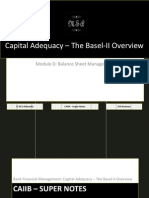 72685432 CAIIB Super Notes Bank Financial Management Module D Balance Sheet Management Capital Adequacy the Basel II Overview