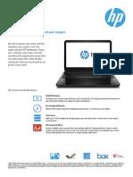 HP Notebook 15-r117ni Brochure