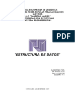 Programacion I_ Estructura de Datos