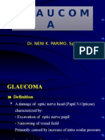 Glaucoma - Bahan Kuliah 12 Des 2014