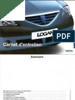 Dacia Carnet Entretien logan 1.5 dci