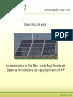 Presentacion Especificacion CFE G0100-04