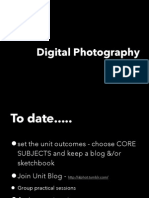 Digital Photography - Final Session