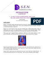 SEN Newsletter March 2015
