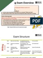 Aptis Writing Exam Overview - Handout for Teachers