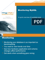 Benchmarking and Monitoring  Tools of the Trade (Part II) Presentation