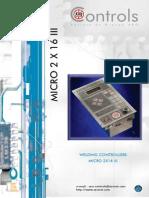 Micro 2x16 aro controls