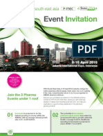 Event Invitation for CPhI, P-MEC, InnoPack South East Asia 2015