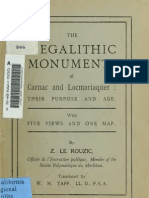 (1908) Megalithic Monuments of Carnac