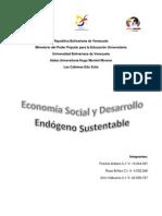 Economia Social y Desarrollo Endógeno Sustentable