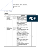 Planificare Calendaristica Ed. Fizica