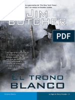 (Harry Dresden 09) El Trono Blanco - Jim Butcher