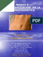 Modulo Aplicacion en La Dermo Cosmética Massaggio Oils