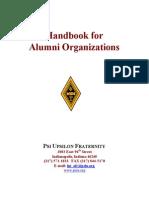 Alumni Handbook