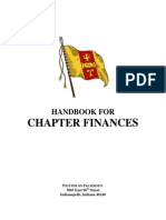 Handbook for Chapter Finance