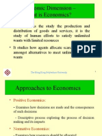 1 Economic Dimension