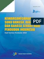 BPS Kewarganegaraan Sukubangsa Agama Bahasa 2010
