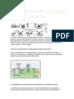 la red de distribución de energía eléctrica