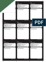 graphic regarding Printable Monster Cards 5e identify DD 5E Monster Template