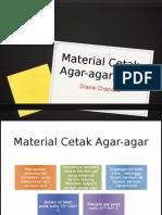 material cetak agar-agar