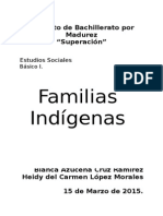 Familia Indigena en guatemala