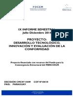 Informe Semestral Proyecto Detiec-julio Diciembre 2014 - Version 26-03-2015