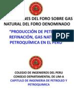 5 FreddyMorales ConclusionesTecnicasForo ProducciondePetroleoRefinacionGasNatural