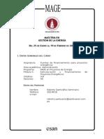 PAE - Fuentes de Financiamiento Para Proyectos Energeticos - 2013