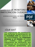 Gerencia Energía y Minas - Comités de Monitoreo y Parti. Ciudadana