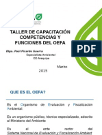 OEFA - Competencias y Funciones
