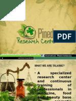 Presentation PINEDA RESEARCH CENTER