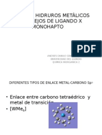 Alquilos e Hidrutos Metàlicos y Complejos de Ligando