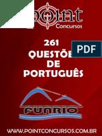 261 - Questões de Português - FUNRIO.pdf