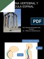 Columna Vertebral y Medula Espinal
