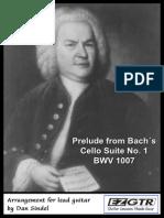 EZGTR Bach Prelude