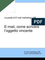 Email Scrivere Oggetto Vincente