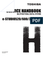 E-STUDIO520 600 720 850 Service Handbook