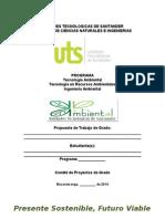 Plantilla Presentacion Propuesta Grado Ambiental