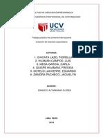 Simulacion de Empresa Exportadora Pica Rico SAC