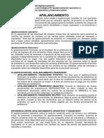 Finanzas Apalancamiento Operativo y Financiero 2015