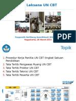 Pelatihan Proktor Dan Teknisi UN CBT 2015 Rev