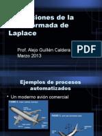 Aplicaciones de Laplace