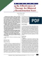 Evaluar La Eficacia de La Terapia de Masaje Para Labio Leporino Bilateral Reconstrucción de Cicatrices