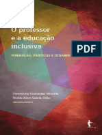 O Professor e a Educação Inclusiva