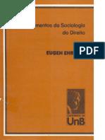 Fundamentos Da Sociologia Do Direito - Eugen Ehrlich