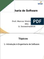 Topico 1 - Introdução á Engenharia de Software